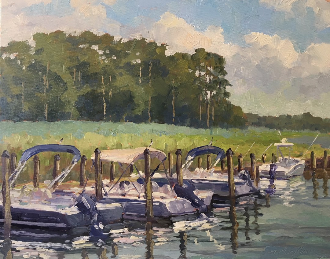 Coastal Autumn Plein Air Paint Out