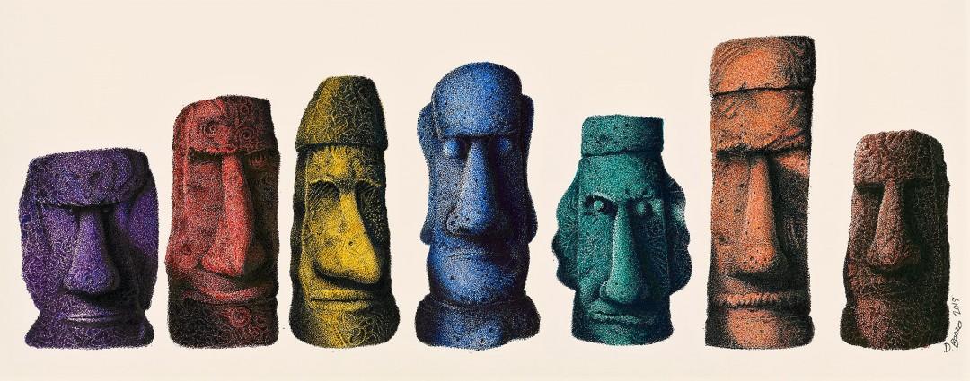 My Easter Island Heads