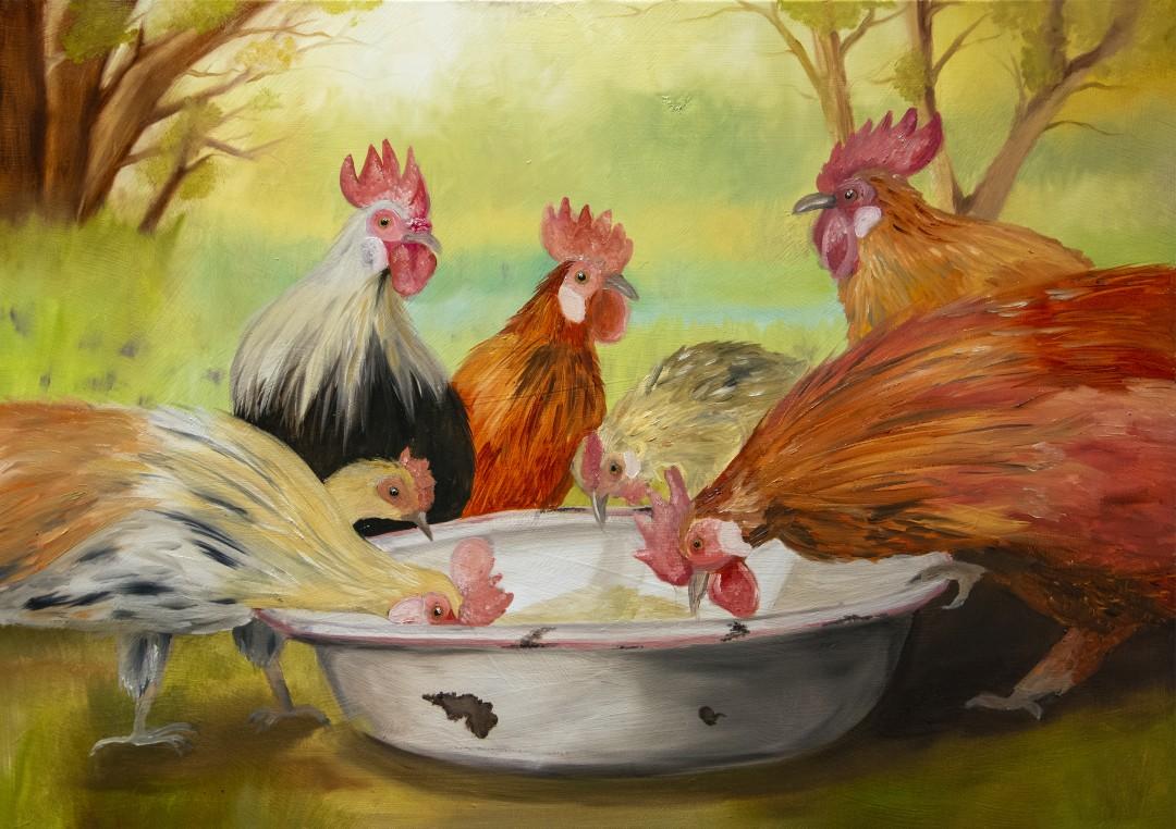 Grandpa's Chickens