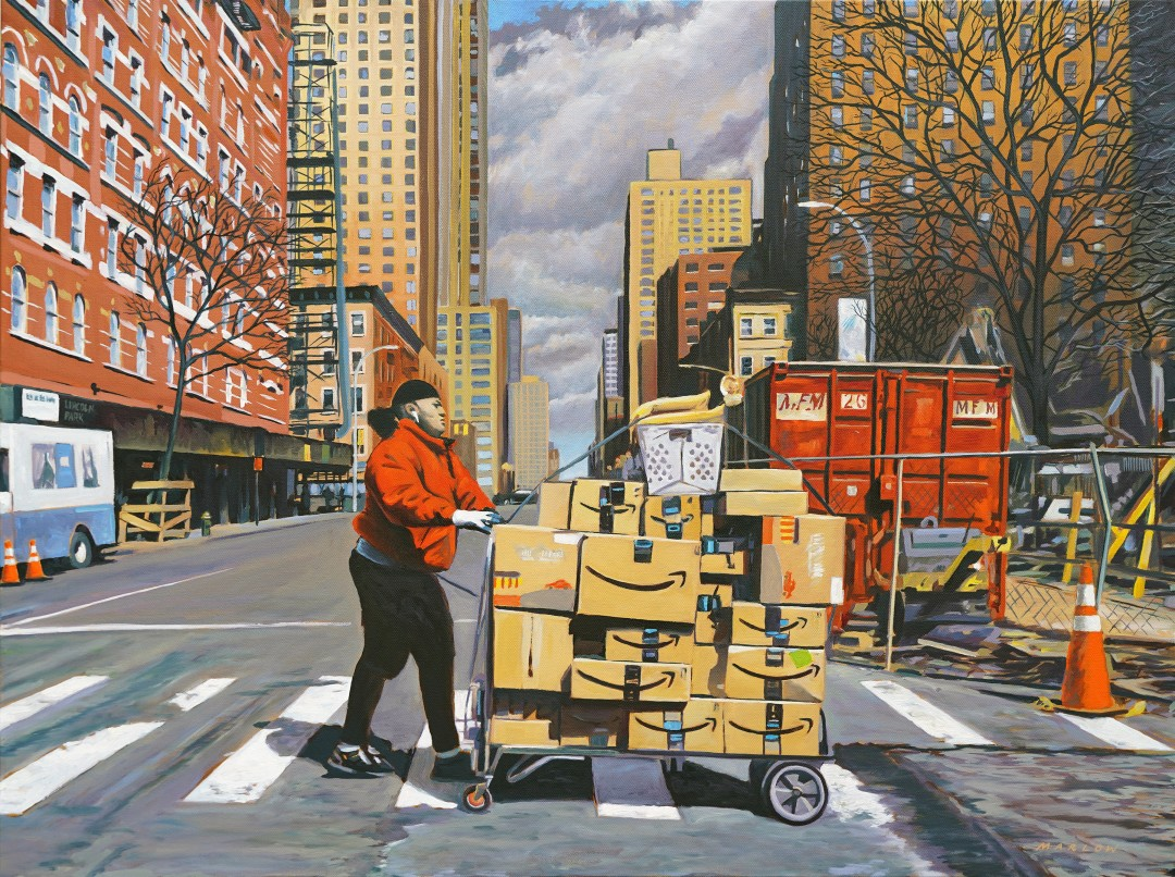 Fanfare for the Mailman (W 56th & 9th Ave., NYC)