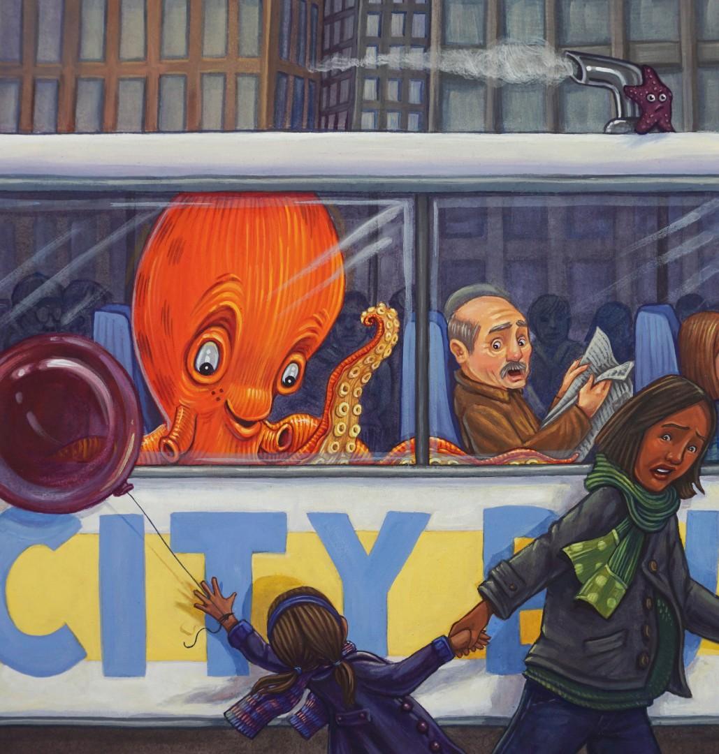 Octavius Rides the Bus