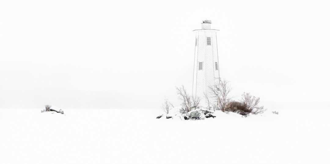 Loon Island White-out