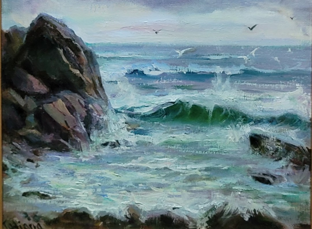 New England seascape.