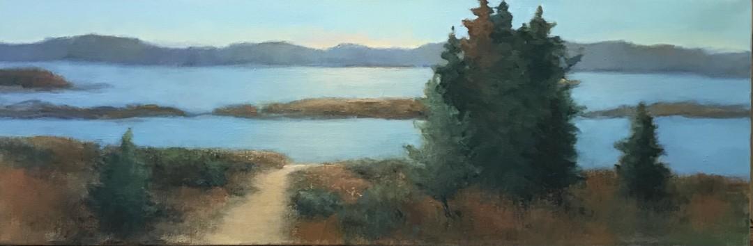 Maine Island Evening