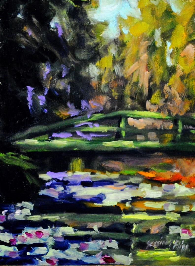 Over the Lily Pond