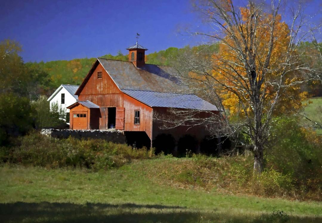 Fall Barn, Hurricane Rd, Keene, NH