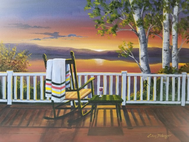 Sunapee Sunset, Fine Art