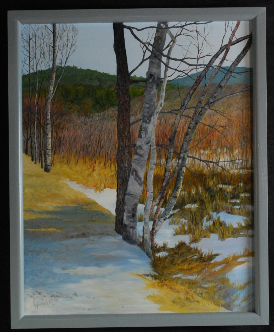 Birches on a Ridge