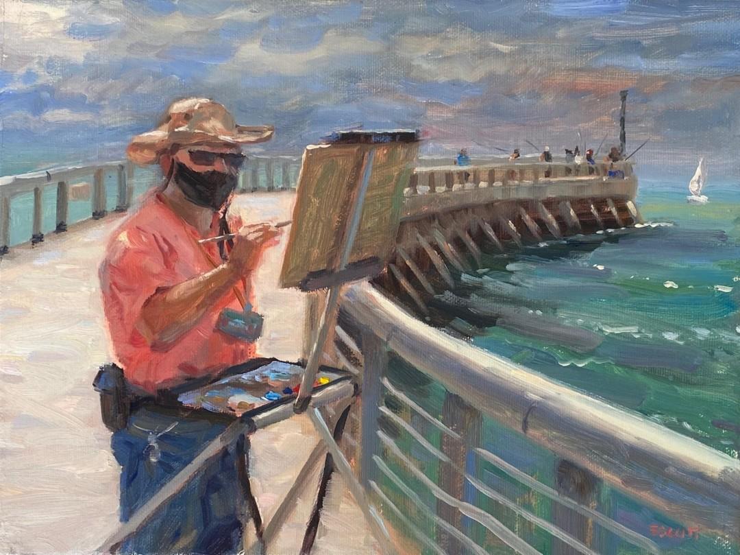 Painting En Plein Mask