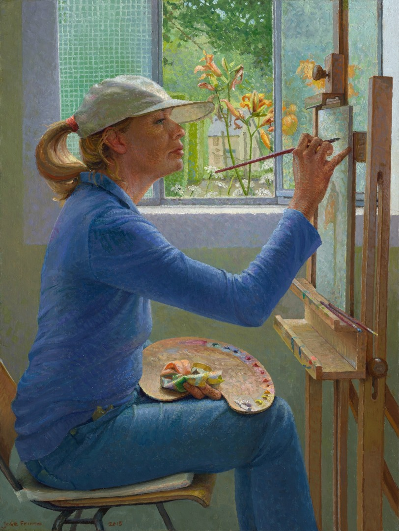 The Lily Painter