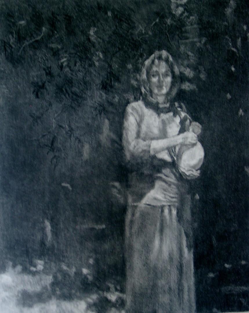 Self Portrait as Rebecca