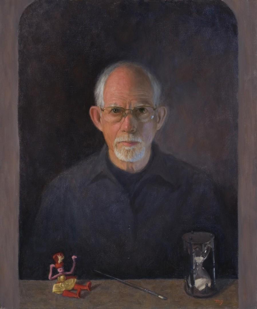 Self with Hourglass