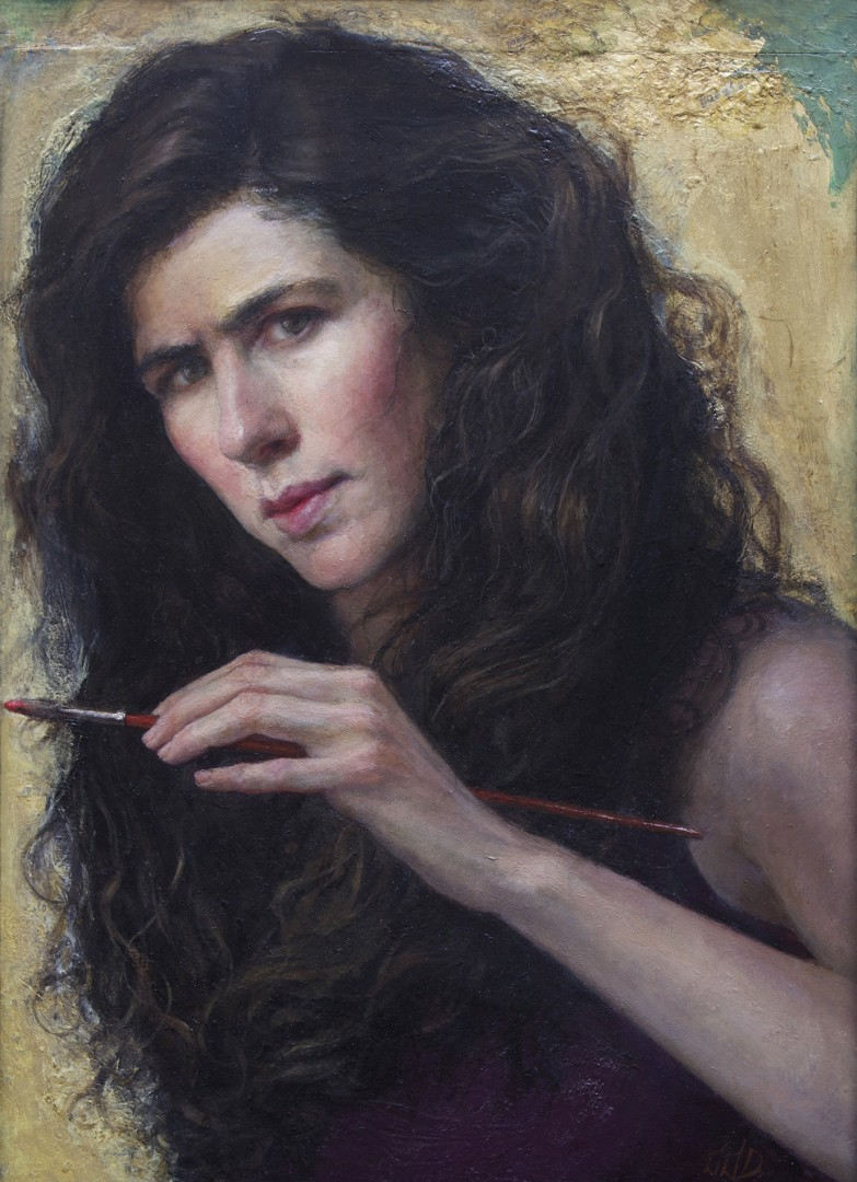 Self-Portrait Painting and Poetry