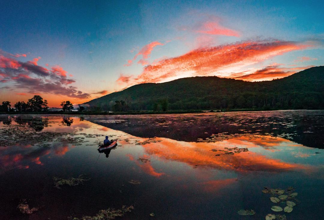 Woods Pond Sunrise
