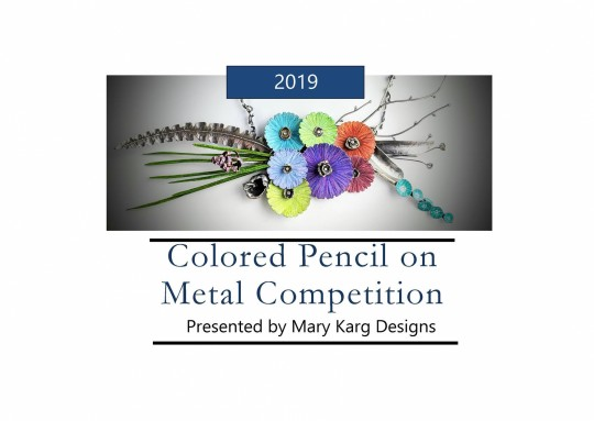 Colored Pencil on Metal Competition 2019