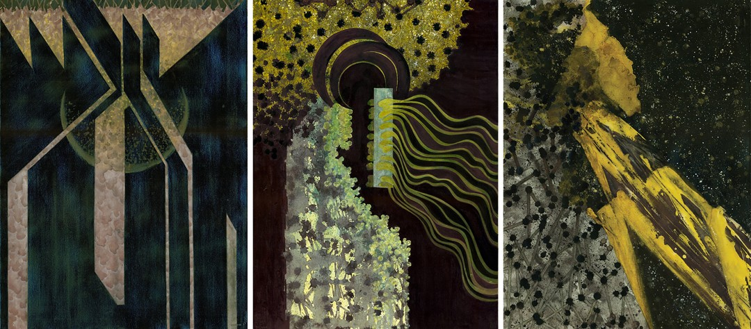Reciprocating Triptych #2