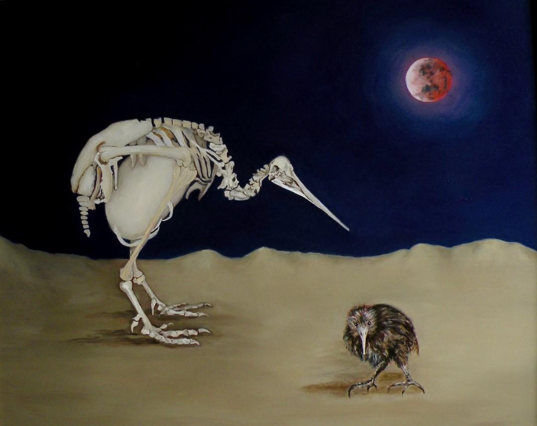 Origins of Extinction:  The Kiwi
