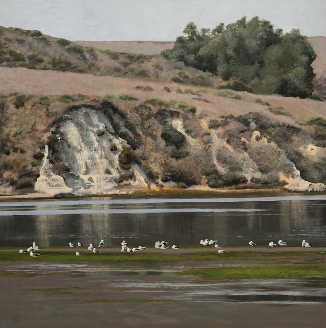 Limantour Estero, Pt. Reyes, Two-Dimensional Wall Art > Paintings