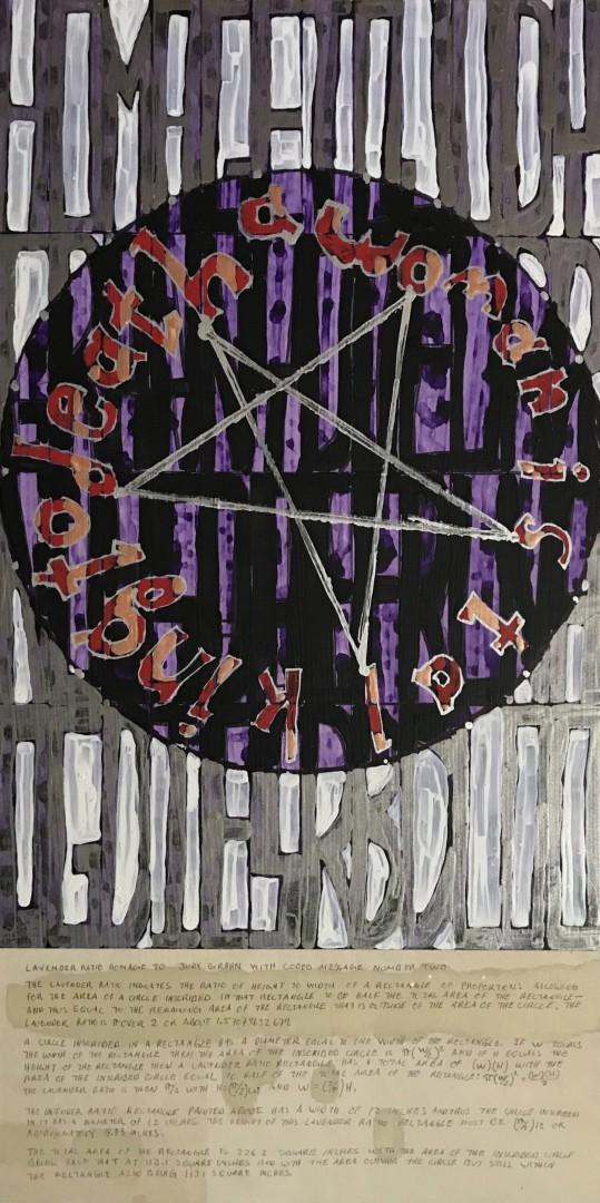 Lavender Ratio Homage to Judy Grahn