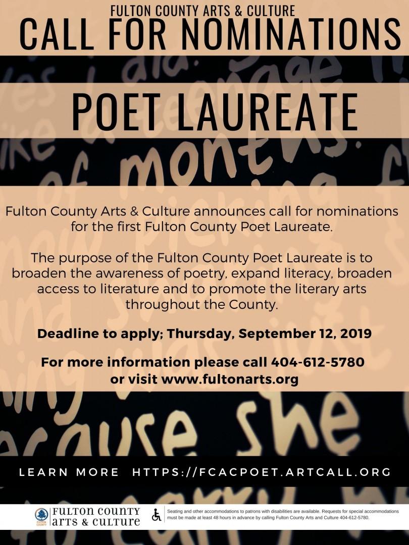 Fulton County Poet Laureate