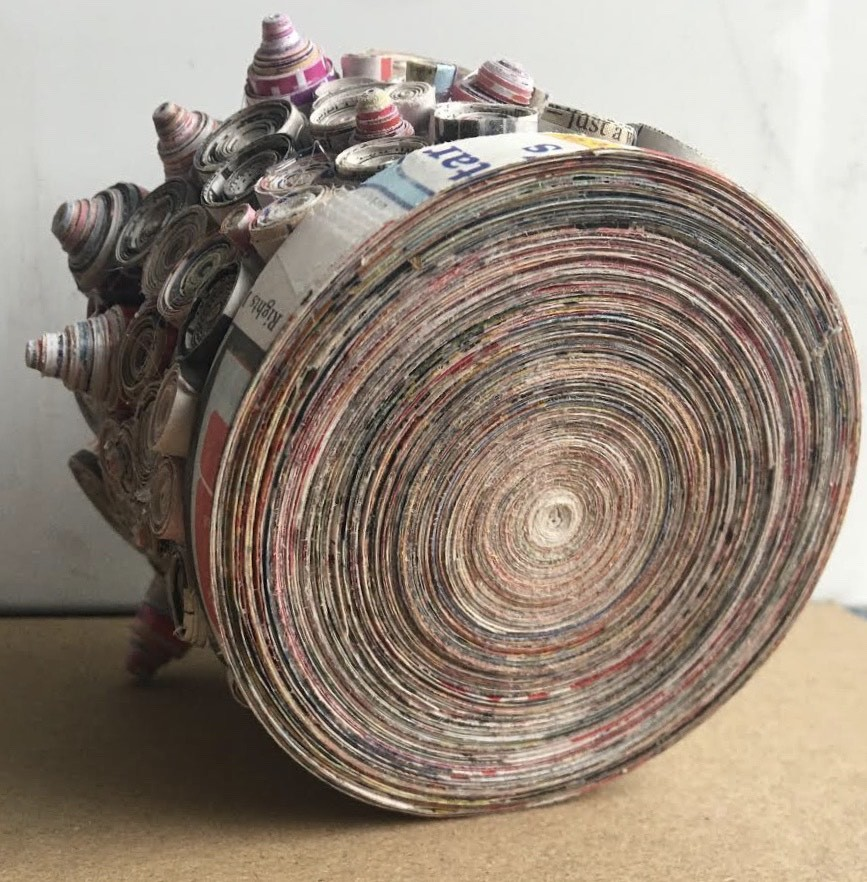 Paper Coil Vessel