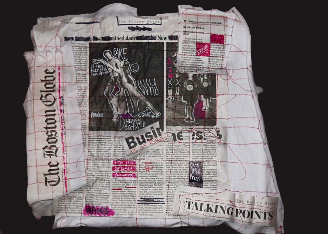 Altered Newspaper #1