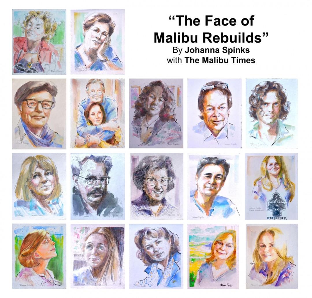 The Face of Malibu Rebuilds By Johanna Spinks