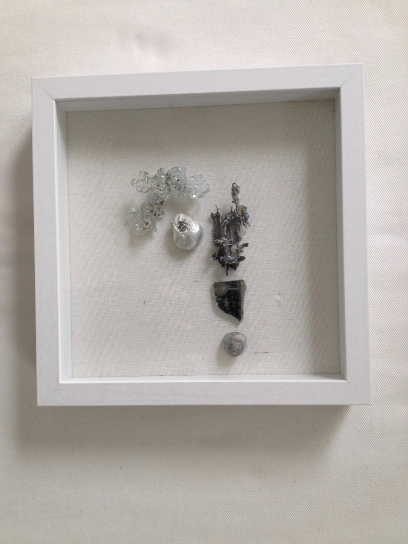 3 Shadow Boxes: Rise Up; Solitude; Chandelier