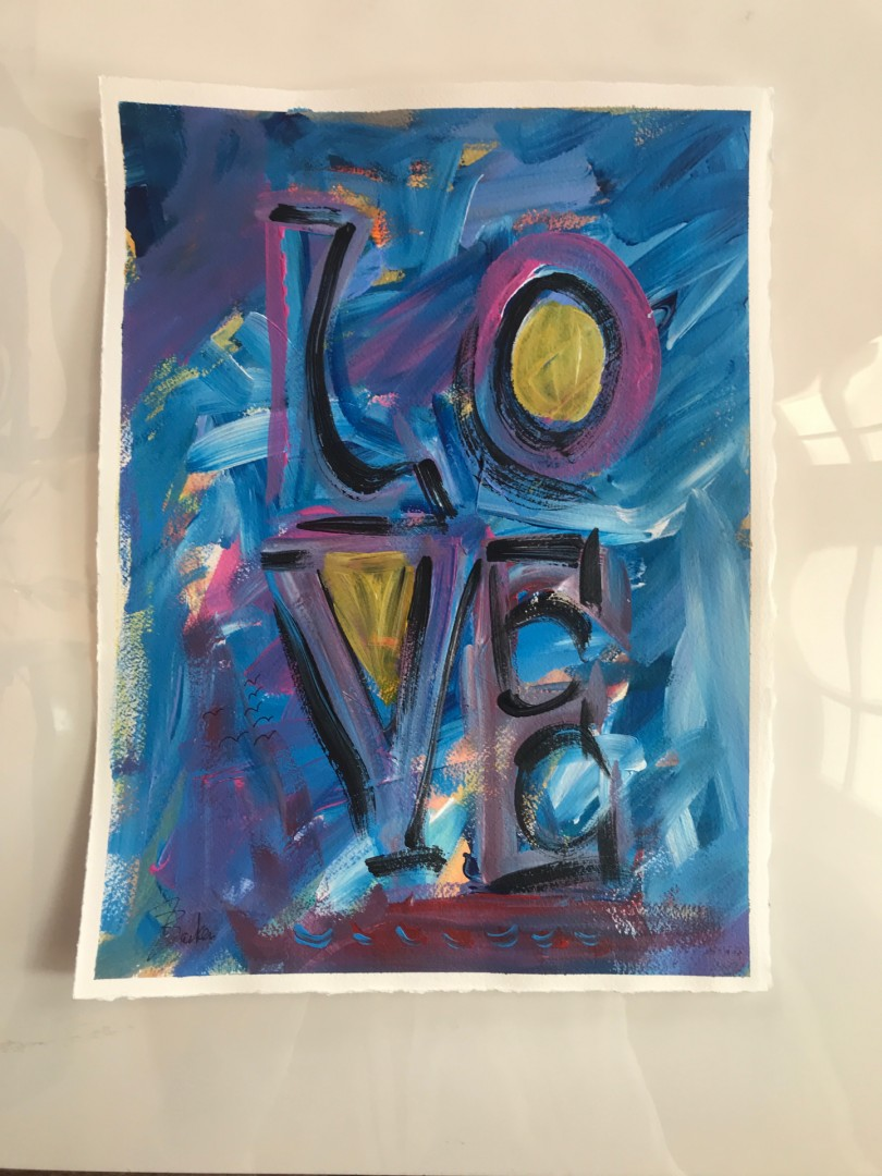 Love - Blue
