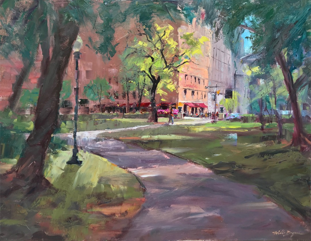 Rittenhouse Square Morning Light