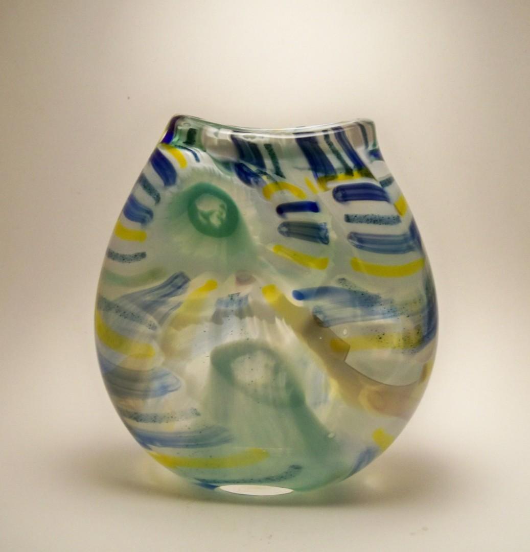 Watercolor Series Vase I