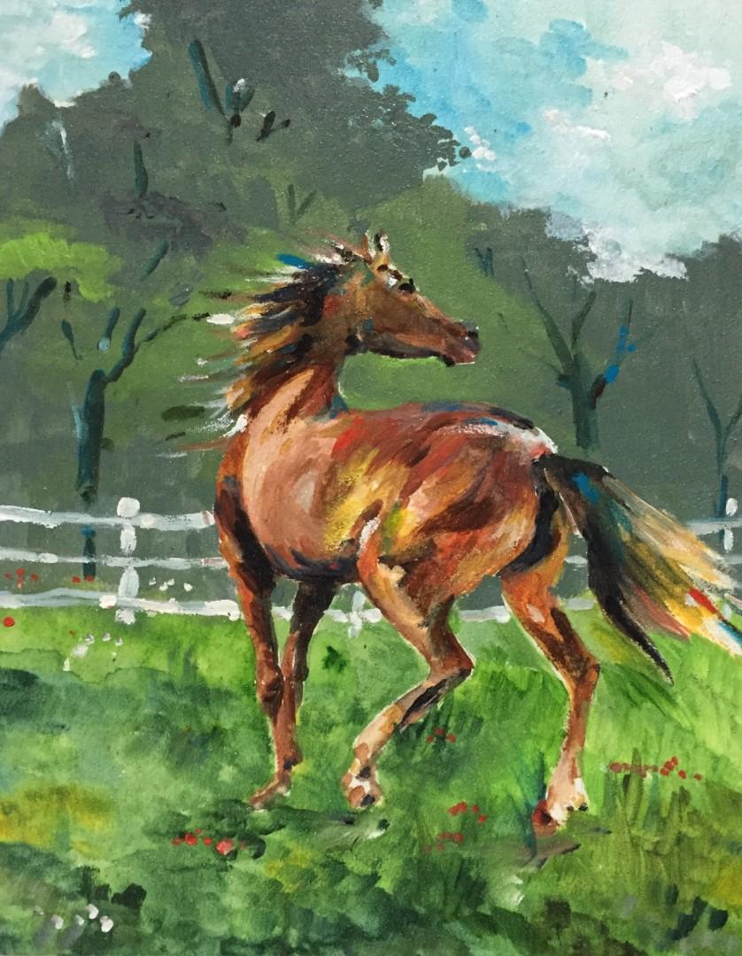 Horse I (Head Turned)