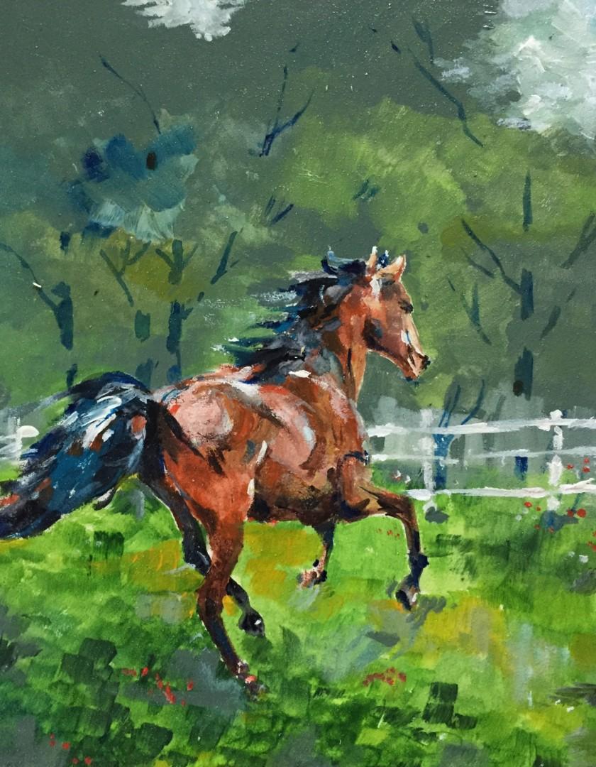 Horse II (Prancing)