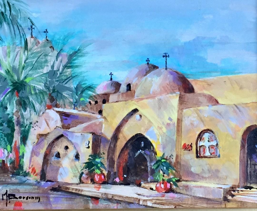 Coptic Monastery, Surian, Egypt II (Exterior)