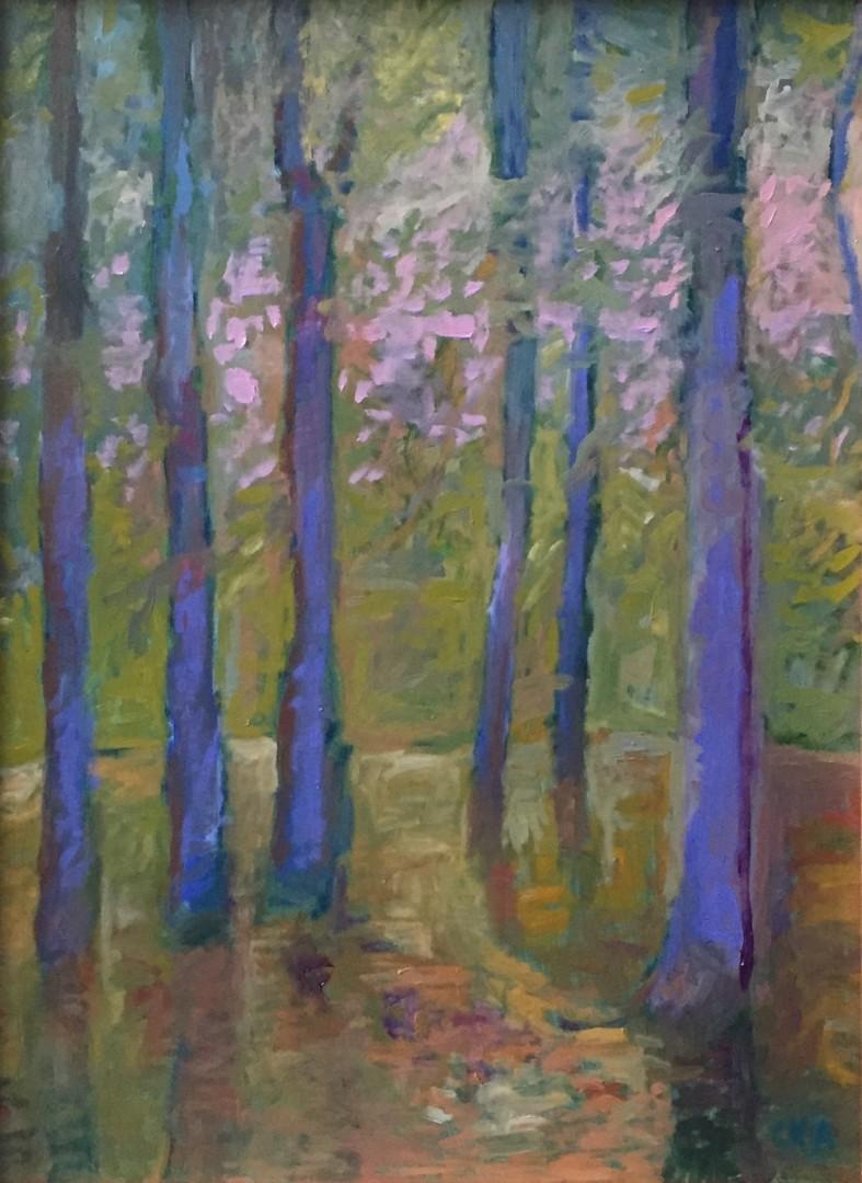 Blue Violet Woods