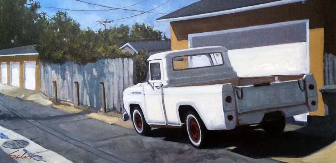 White Alley Truck