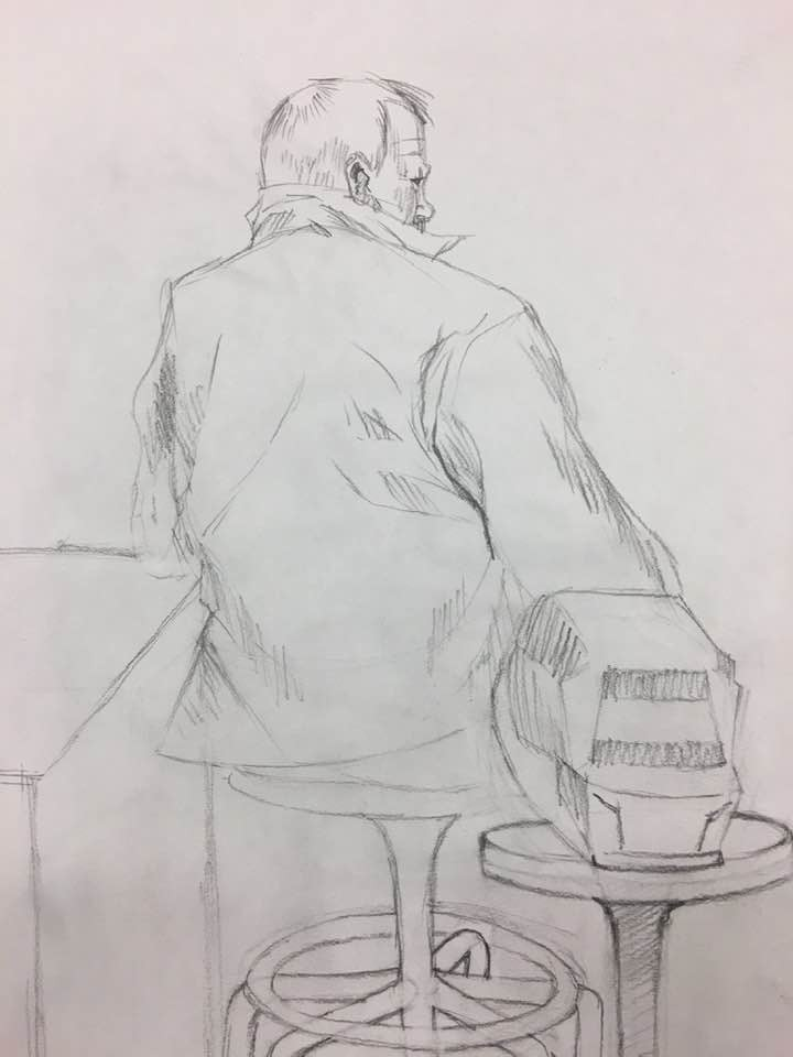A Professor in His Setting