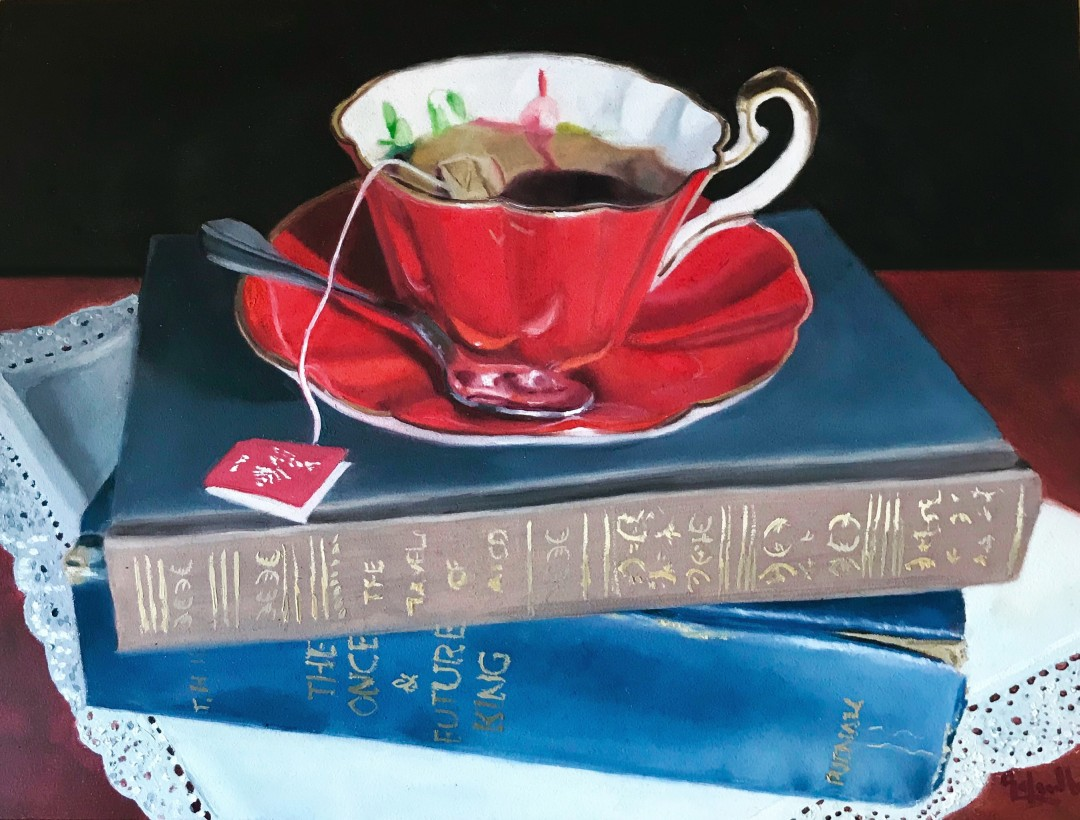 Little Red Teacup