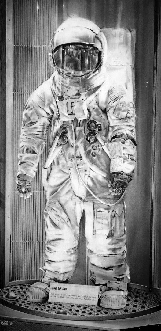 Lunar Eva Suit