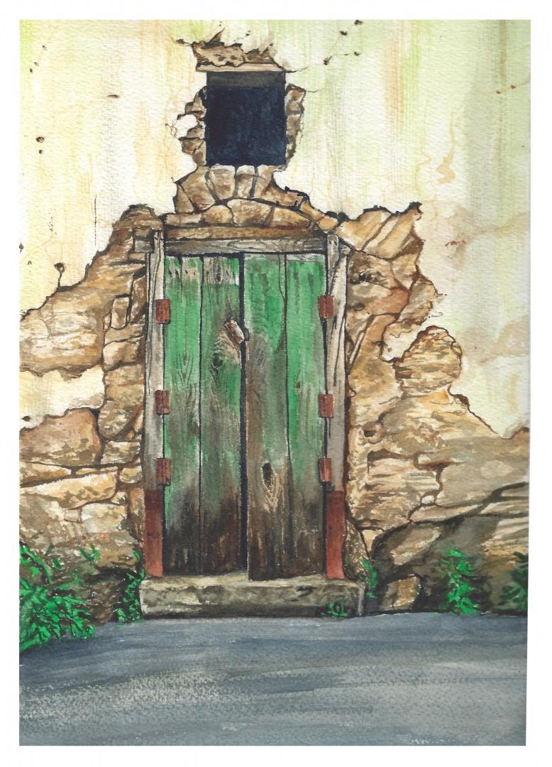 Decaying Door