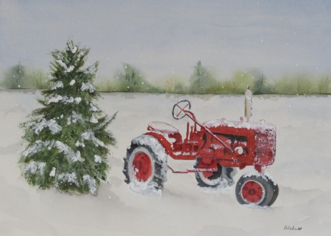 All weather tractor