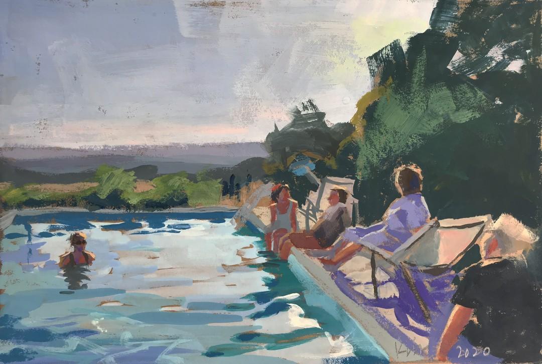Les Bassac Poolside