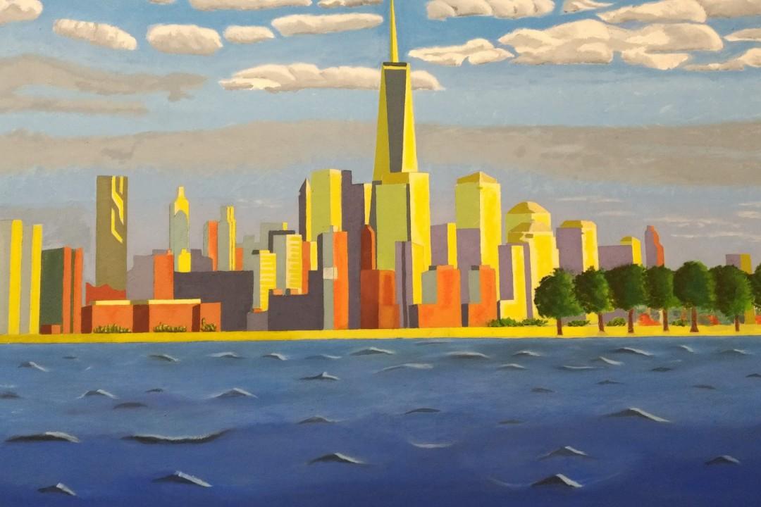 New York Across The Hudson