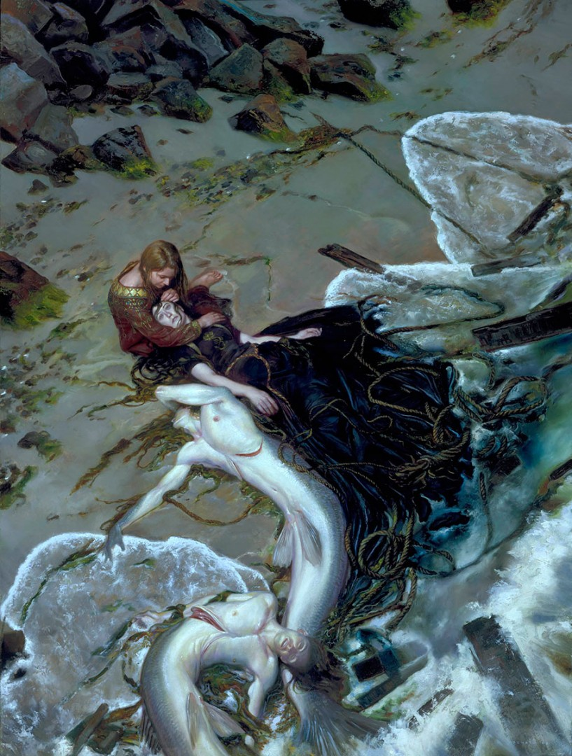 Golden Rose by Donato Giancola