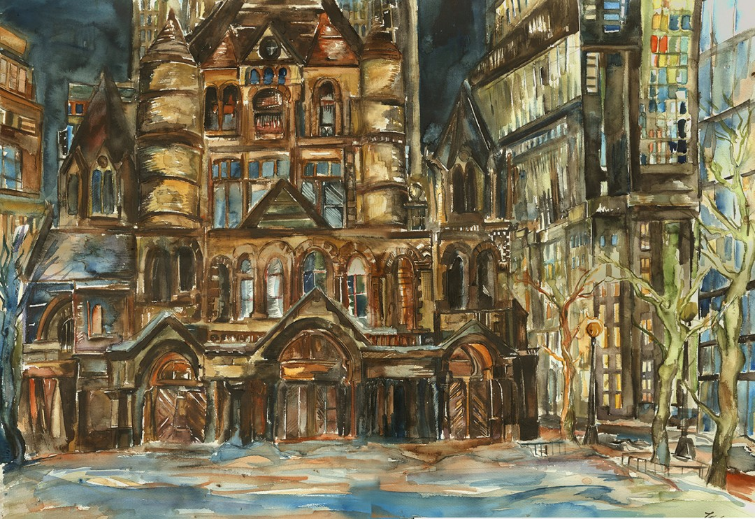 """Trinity Church (Copley Square)"""