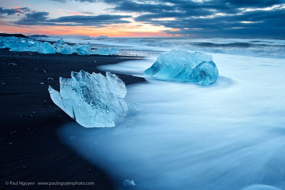 Icebergs, Dawn