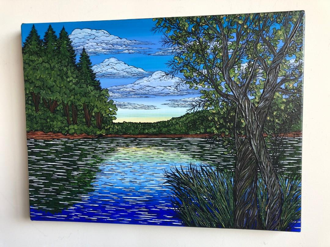 Summertime at Walden Pond