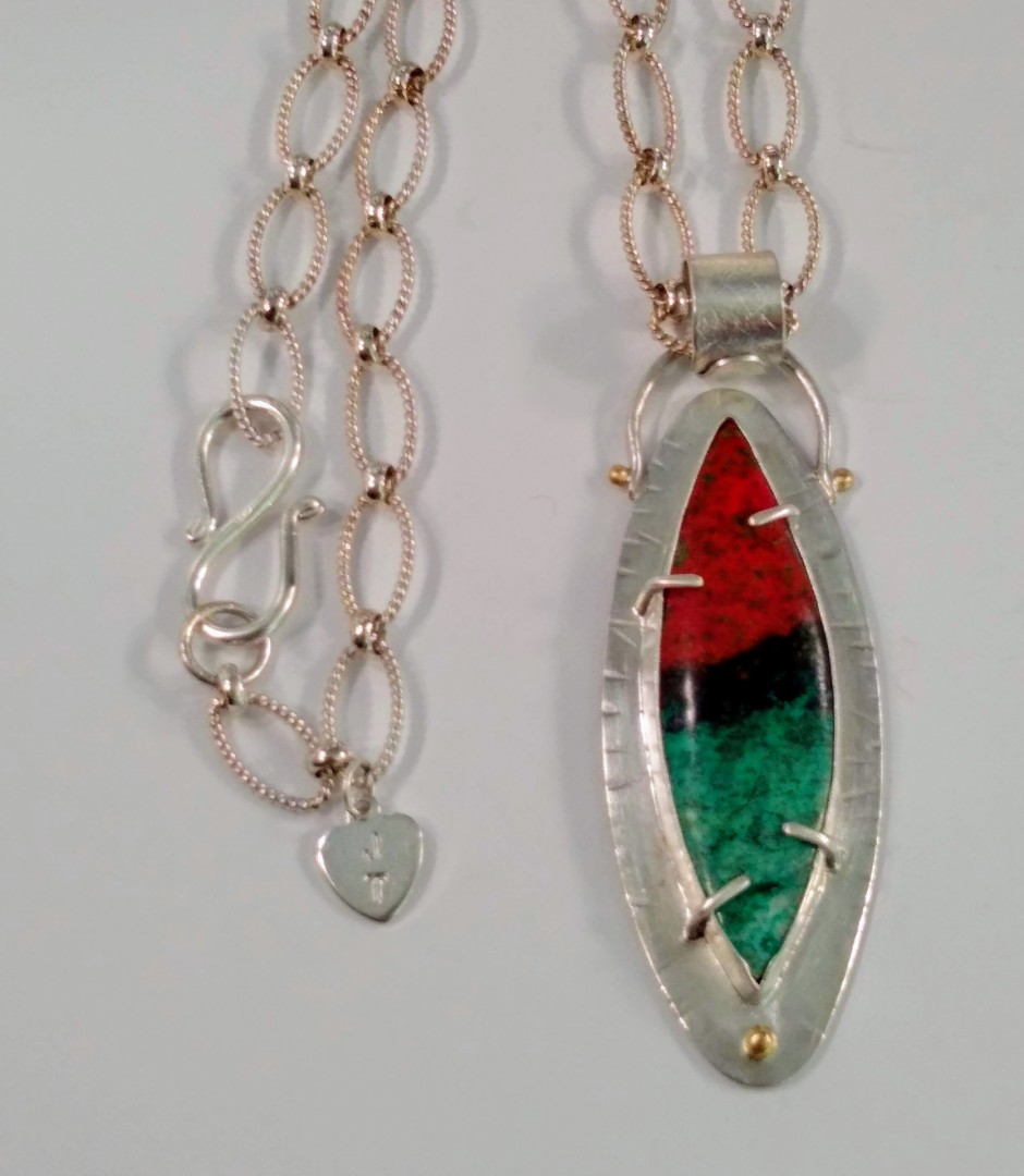 Sterling Sonoran Sunset Necklace
