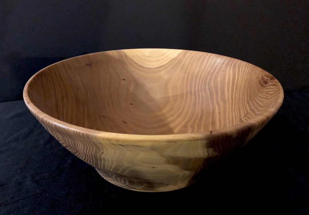 Wood-Turned Locust bowl
