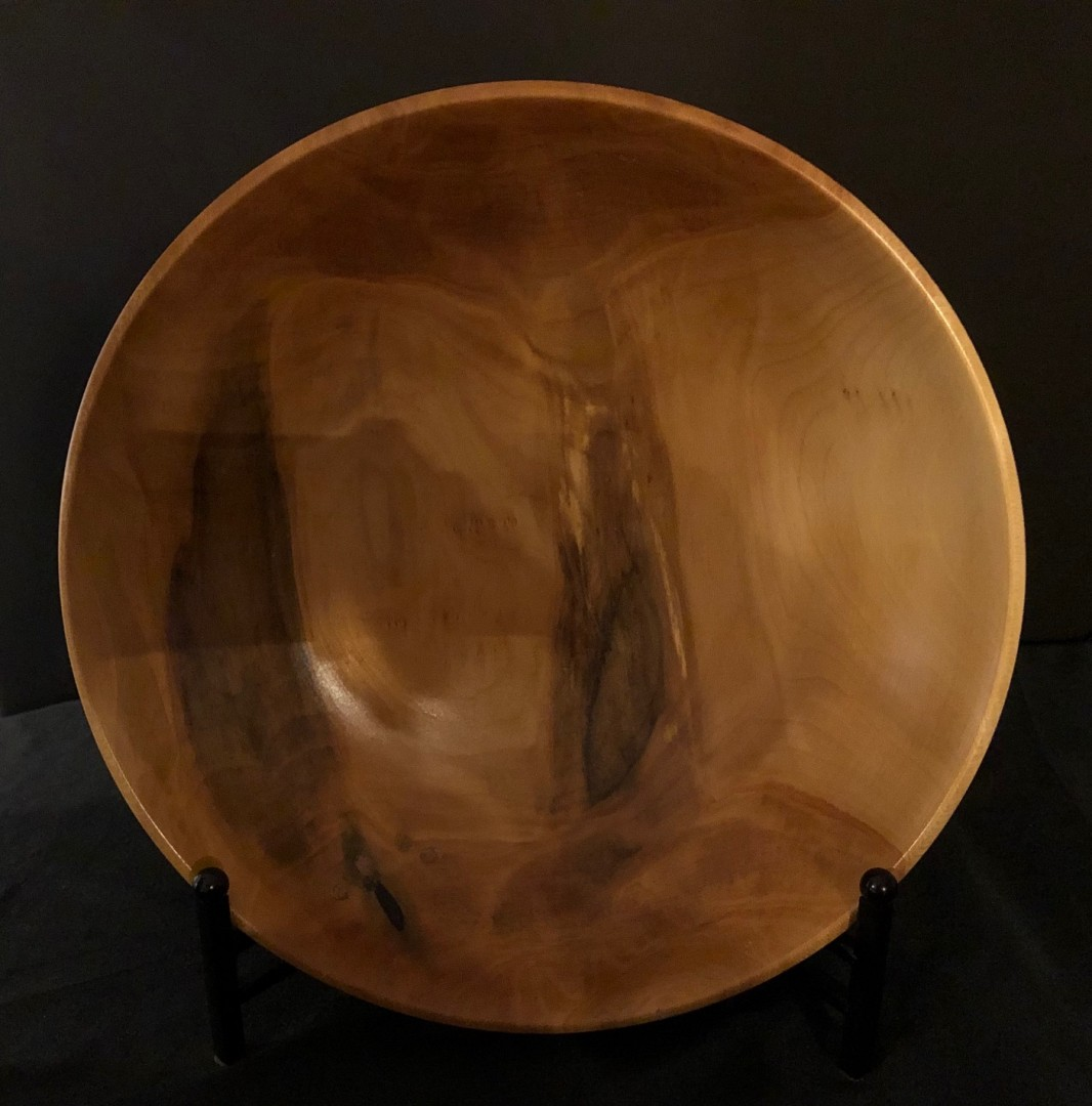 Wood-Turned Sycamore bowl